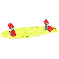 Скейт мини круизер Пластборд Transp Grass Green 7.5 x 28 (71.1 см)