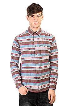 Рубашка в клетку Burton Mb Mill Wvn Blue Astr Rming Strp