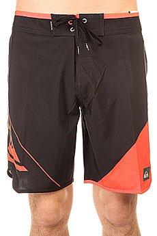 Шорты пляжные Quiksilver New Wave Black/Orange