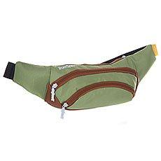 Сумка поясная TrueSpin Wisst Bag F.bottom Pistachio/Brown