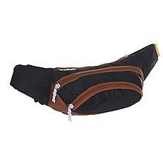 Сумка поясная TrueSpin Wisst Bag F.bottom Black/Brown