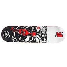 Дека для скейтборда Footwork Original Rocky 31.4 x 8.125 (20.6 см)