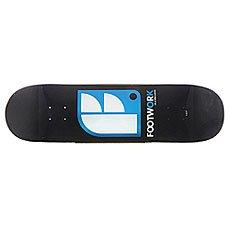 Дека для скейтборда Footwork Original Logo Black 32.2 x 8.5 (21.6 см)