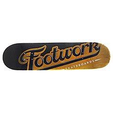 Дека для скейтборда Footwork Original Lucky Yellow 31.3 x 7.87 (19.9 см)