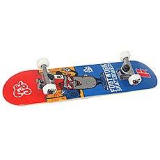 Скейтборд в сборе детский Footwork Decky Micro Red/Blue 27.75 x 6.75 (17.1 см)
