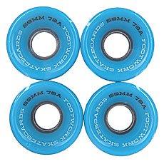 Колеса для лонгборда Footwork Road Runners Black/Blue 78A 59 mm