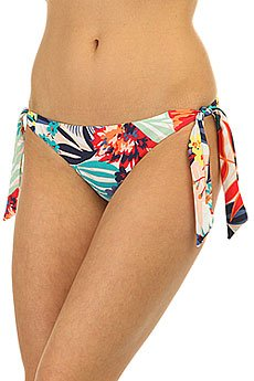 Плавки женские Roxy Knotted Surfer Canary Islands Flora
