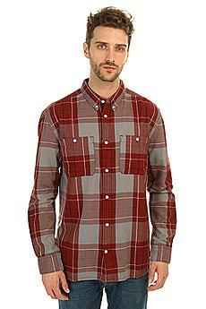 Рубашка в клетку DC South Ferry 2 South Syrah