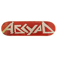 Дека для скейтборда Absurd Logo 3 Red 31.75 x 8.25 (21 см)
