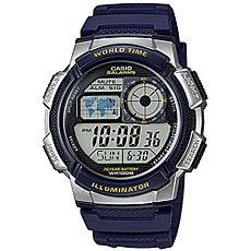 Электронные часы Casio Collection Ae-1000w-2a Blue/Grey