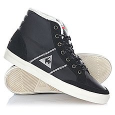 Кеды утепленные женские Le Coq Sportif Mont Charlety Syn Leather Black