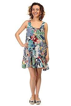Платье женское Roxy Shadow Canary Islands Flora
