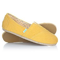 Эспадрильи Paez Classic Raw Essentials Yellow-0047