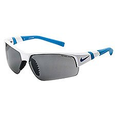 Очки Nike Optics Show X2 Shiny White/Neo Turq Grey / Silver Flash/Clear Lens