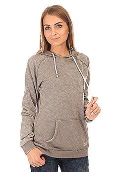 Толстовка кенгуру женская Billabong Essential Ho Dk Athl Grey