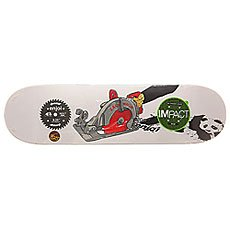 Дека для скейтборда Enjoi S6 Wallin Skill Impact Plus Saw 31.7 x 8.25 (21 см)