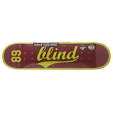 Дека для скейтборда Blind S6 Athletic Skin Rhm Plum 31.2 x 7.75 (19.7 см)