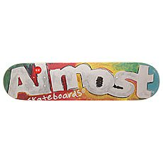 Дека для скейтборда Almost S6 Hyb Art School Tea 31.1 x 7.5 (19.1 см)