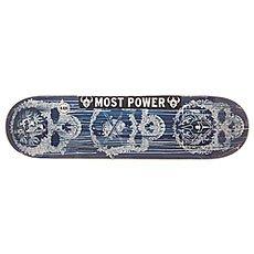 Дека для скейтборда Darkstar S6 Hyb Addiction Blue 31.8 x 8.125 (20.6 см)