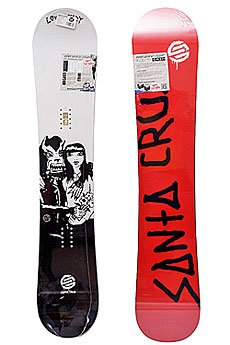 Сноуборд Santa Cruz Love Is Scarry 156 White