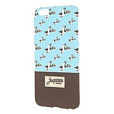Чехол для iPhone 6 Plus Запорожец Дичь 86 Blue/Dark Brown
