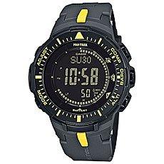 Электронные часы Casio Sport PRG-300-1A9 Grey/Yellow