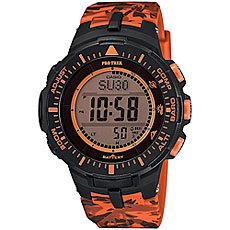 Электронные часы Casio Sport PRG-300CM-4E Black/Orange