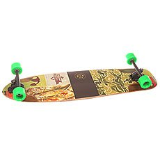 Лонгборд Dusters S6 Shooter Downhill Longboard Kryptonics Green 9.75 x 36 (91.5 см)