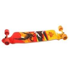 Лонгборд Dusters Thirds Drop-down Longboard Red/Yellow 9.75 x 41.25 (105 см)