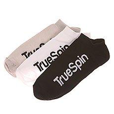 Носки низкие TrueSpin Классика Black/White/Grey