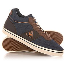 Кеды высокие Le Coq Sportif Troca Mid Chambray Dress Blues