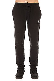 Штаны спортивные Le Coq Sportif Pant Bar Straight Unbr Black