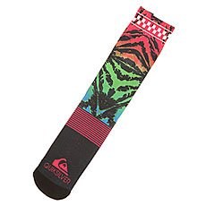 Носки средние Quiksilver Frontboarder Crew Fiery Coral