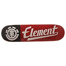 Дека для скейтборда Element Script Black/Red/White 31.5 x 8.25 (21 см)