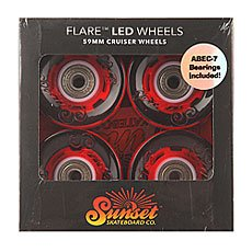 Колеса для лонгборда Sunset Cruiser Wheel With Abec7 Merica 78A 59 mm
