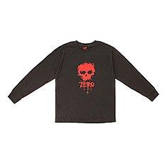 Лонгслив детский Zero Skull Black