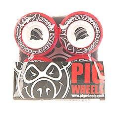 Колеса для скейтборда Pig Street Cruisers New Red 88A 51 mm