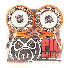Колеса для скейтборда Pig Street Cruisers New Orange 88A 53 mm