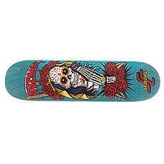 Дека для скейтборда Santa Cruz S6 Guzman Muerte Bae 31.9 x 8.2 (20.8 см)