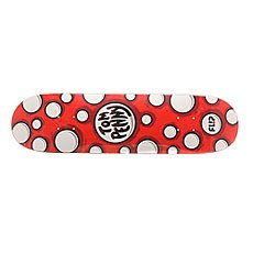 Дека для скейтборда Flip S6 Penny Pop Dots Red 32 x 8.13 (20.7 см)