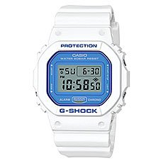 Электронные часы Casio G-Shock Dw-5600wb-7e White/Denim