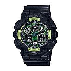 Электронные часы Casio G-Shock Ga-100ly-1a Black/Green