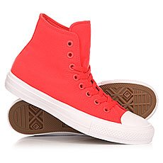 Кеды высокие Converse Chuck Taylor All Star II Hi Red/Navy/White