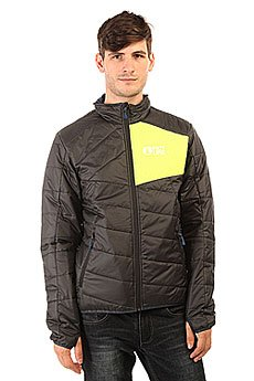Куртка Picture Organic Atlas Black/Fluo Yellow