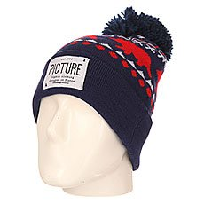 Шапка Picture Organic Racoon Beanie Navy