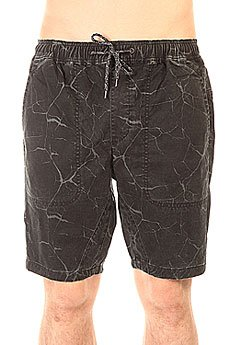 Шорты классические Globe Goodstock Beach Short Black Marble