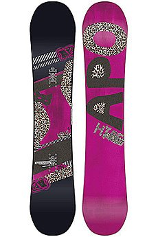 Сноуборд женский Apo Hype Rocker 143 Black/Pink