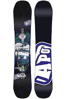 Сноуборд Apo Iconic-Sage Positive Camber 155 W Black/White/Multi