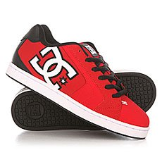Кеды низкие DC Net Red/Black/White