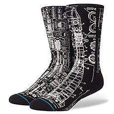 Носки средние Stance Anthem Blueprint Black
